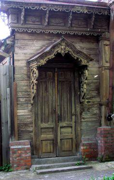 old door in Serphuhov