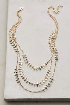 #jewelry #layered #necklace