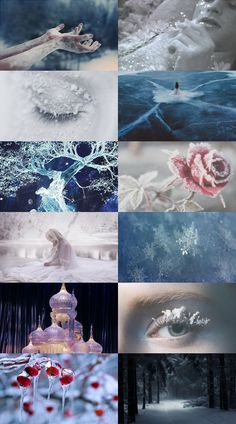 Ice Witch, requested by Disney Aesthetic, Witch Aesthetic, Aesthetic Collage, Character Aesthetic, Fantasy World, Fantasy Art, Ice Magic, Boxing Day, Snow Queen