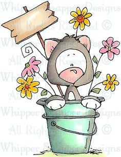 Ali Katt - Cats - Animals - Rubber Stamps - Shop
