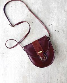 e81e66b09e52 Vintage bag Celli Vintage Brown Bag Real Leather Handbag Shoulder Bag Cross  Body Celli Ireland Gift For Her Gift For Irish Evening Bag