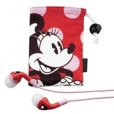 KIDdesigns DM-M15 Minnie Mouse Noise Isolating Earphones  #Graduation #Gifts #Kids