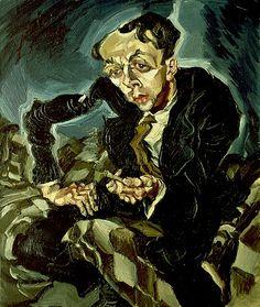 Portrait of Willie Zierath. Ludwig Meidner