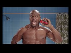 Get Shaved in the Face - so funny Terry Crews - one day I want this budget to produce commercials! Funny Films, Funny Ads, Hilarious, Cannes, Get Shaved, Coca Cola Ad, Terry Crews, Mr Olympia, Viral Marketing