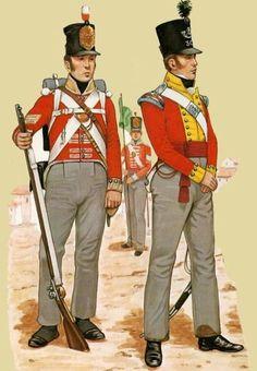 Fuciliere del 48 rgt. fanteria leggera e ufficiale del 30 rgt. fanteria leggera…