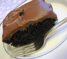 """mayonnaise chocolate cake.. this is an old recipe from the south! it's simple to make with an unforgettable taste. My mother called it """"Million Dollar Cake"""" because Neiman Marcus told a customer who wanted the recipe - that's what it would cost her!"""