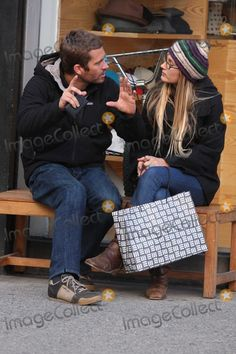 Paul Walker and his girlfriend Jasmine Pilchard-Gosnell in NYC 02/17/09