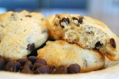 Banana Chocolate Chip Cookies  (via Krista Shuler, a friend of Lisa and Laura's)