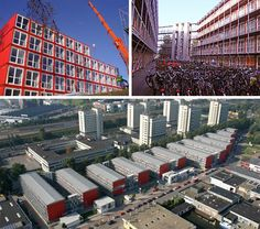 Keetwonen Student Housing - Amsterdam : world's largest container city with 1000 units