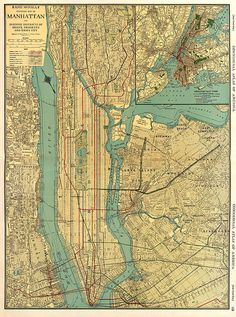 66 Best New Jersey Vintage Map images