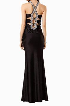 Demi Mist - Google+ Black Evening Dress