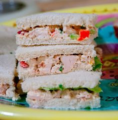 A Blog About Food: Chicken Salad Sandwiches