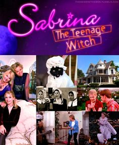 Favorite Television of the '90s    Sabrina the Teenage Witch| 1996-2003  I wish I had a dollar for everytime I heard this when I told someone my name!!