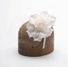Hand made bridal head piece.