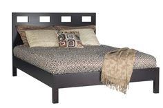 Modus Furniture Nevis King Size Riva Platform Bed, Espresso Modus Furniture