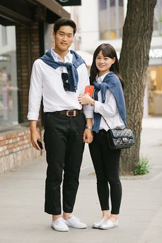 Korea's Matchy-Matchy Couple Outfits Take Relationships To The Next Level