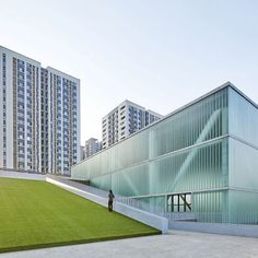 San Wayao Community Center: Project: San Wayao Community Sports Center Architect: CSADR Project Location: Chengdu, China Project Date: 2015More than a sports facility, this project grew from the need of a communal center for its neighborhood of all ages. This public recreational center houses a swimming pool, fitness center, tennis court, basketball court, squash court, ping pong table, billiards table, gate ball court, outdoor fitness center, and playground for kids.In terms of the…