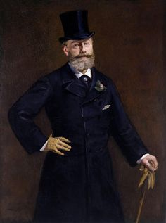 "A portrait by Edouard Manet depicting his childhood friend Antonin Proust, who later in life became the Minister of Culture in France. Although, there is in this work a reflection of the artist himself, as Proust has the top hat, yellow gloves and cane that Manet was well known for. Use the code ""VP20"" during checkout at www.vintprint.com for 20% off all orders!"