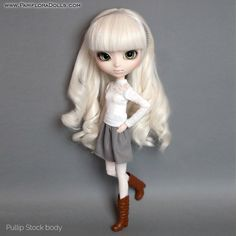 3 pieces set for Pullip Pure Neemo Azone Blythe Dal