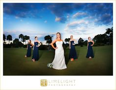 COUNTRYSIDE COUNTRY CLUB, Bride and Bridesmaids, Limelight Photography, www.stepintotheli...