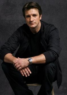 """Nathan Fillion.  I loved him in """"Firefly,"""" and I adore him in """"Castle."""" Funny, charming, and oh so handsome!"""