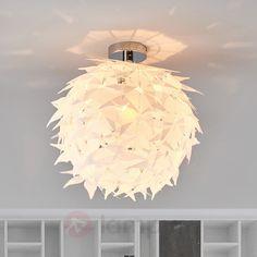 Biała akrylowa lampa sufitowa Rory 8032086