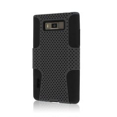 Empire MPERO FUSION M Series Protective Case for LG Splendor/Venice US730 - Retail Packaging - Gray >>> For more information, visit image link.