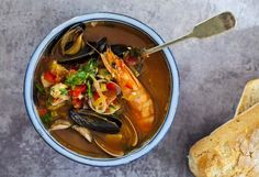 Recipe Summary RecipeSeafood stew AuthorJulie GoodwinPublished 2017-10-29Prep Time 30MCook Time 30M Total Time 60MRating 5 Based on 1 Review(s)