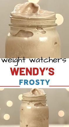 HOW TO MAKE A WENDY'S FROSTY – 3 POINTS Our Homemade Wendys Frosty Recipe is the ultimate copycat recipe, made with just 3 simple points! You can make this shake in minutes, and it tastes just like the real th Weight Watcher Desserts, Weight Watchers Snacks, Weight Watchers Smoothies, Petit Déjeuner Weight Watcher, Plats Weight Watchers, Weight Watchers Meal Plans, Weight Watchers Breakfast, Shake Recipes, Ww Recipes
