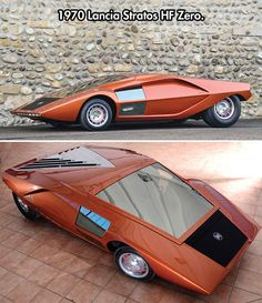 Old Futuristic Car