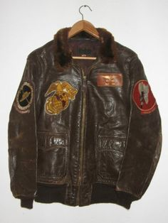Flight Jacket G-1 - Americain pilote jacket - Corsair WW2-Coree