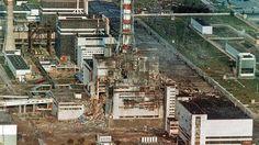 Blick auf den am 26. April 1986 zerstörten Reaktor des Atomkraftwerkes Tschernobyl © dpa - Bildfunk