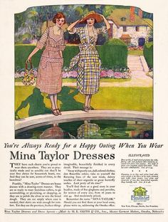 Mina Taylor Dresses, 1921