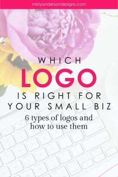 With so many choices how do you know which logo is right for your business? Learn about the 6 types of logos and how you can choose the right one for your biz.