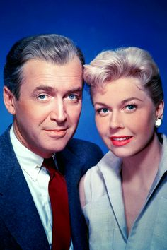 Jimmy Stewart and Doris Day in The Man Who Knew Too Much (1956)