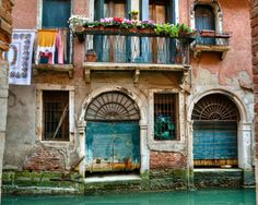 Venice Italy - A Room with a view. You can order a print of this beautiful scene. See: http://www.etsy.com/listing/76878888/a-room-above-the-canal-8x10-photograph?ga_search_query=italy_search_type=user_shop_ttt_id_5579272