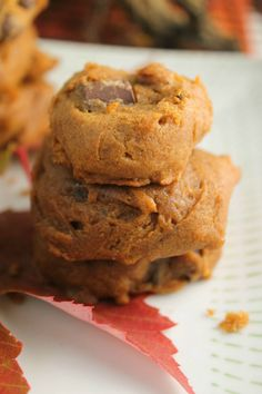 Soft Pumpkin Cookies Gluten Free Vegan Tessa the Domestic Diva
