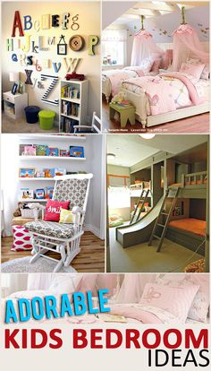 Adorable Kids Bedroom Ideas