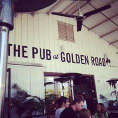 drinking is fun. But you know what's more fun? Drinking... and playing games at the same time! That's where Golden Road comes in: they've got giant Jenga, ping pong, and more, a slew of outdoor seats, and some of LA's best local beer, brewed right there.