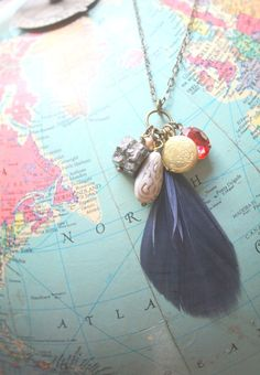 Mini Memory Collector Necklace by EclecticOrchid, $34.00