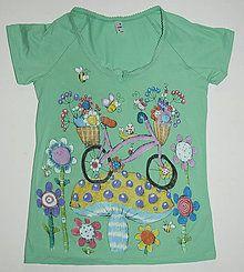 Tričká - Bicyklička verde - 7343564_