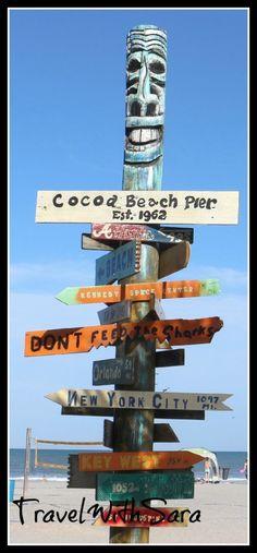 Cocoa Beach Pier #Florida's Space Coast