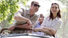 Kate Middleton, Prince William Go on a Safari During Royal Tour of India