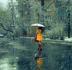Rain, sometimes l love  it! I love feeling all cozy and snuggled in a blanket with soup.