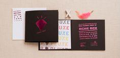 Richie Rich invitation to NY Fashion Week