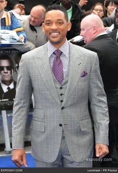 Will Smith –Saw him on TV the other day in this suit and absolutely love it!