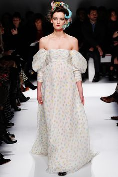 #Schiaparelli #HauteCouture #SS2014 #Paris #catwalk #trends #drapping #in