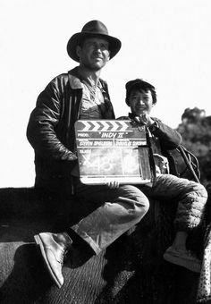 En el set de Indiana Jones