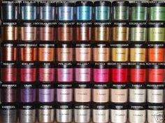 Mac pigments. These are a few of my favorite things. #LJM