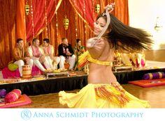 belly dancer at Mehndi.  Pakistani Wedding.  Washington, D.C. #dcweddingphotographer  photo by Lauren Pritchard.  © Anna Schmidt Photography www.annaschmidtphoto.com https://www.facebook.com/AnnaSchmidtPhotography